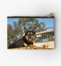 King Of The Kelpies & His Hilux Ute....... Studio Pouch