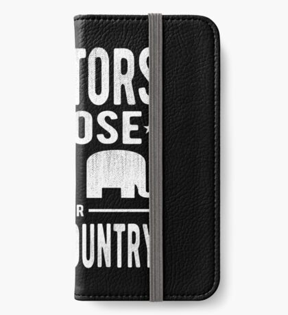 Traitors Party over Country iPhone Wallet
