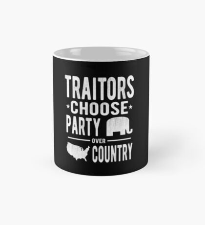 Traitors Party over Country Mug