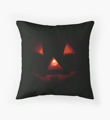 Mr Pumpkin Throw Pillow