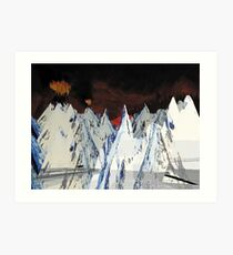 Radiohead // Kid A Art Print