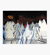 Radiohead // Kid A Photographic Print