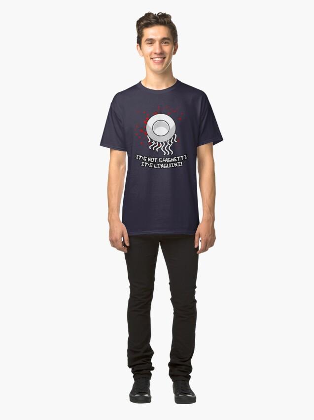 Alternate view of It's not spaghetti, it's linguini! Classic T-Shirt