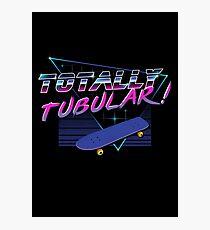 Totally Tubular Photographic Print