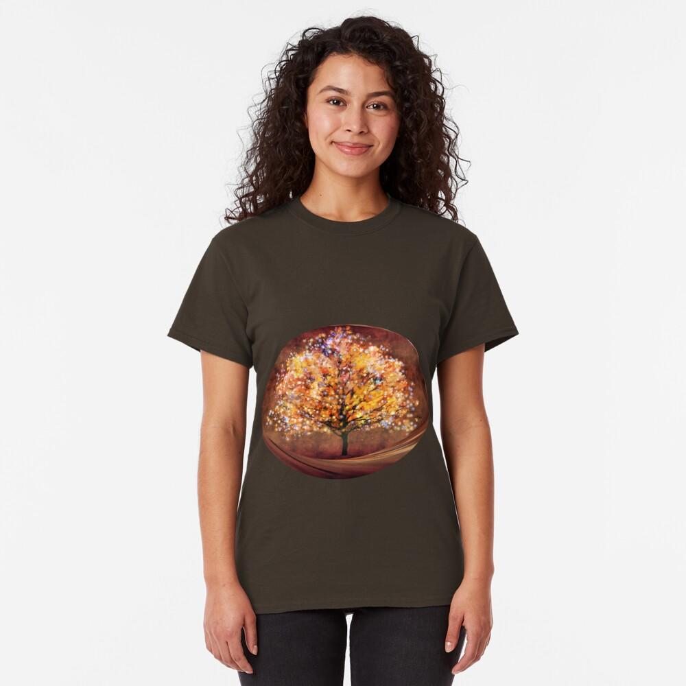 Starry tree  Classic T-Shirt