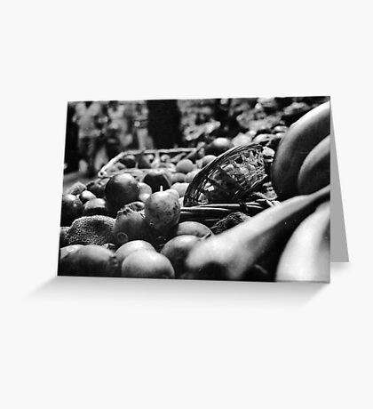 Fruit & A Basket Greeting Card