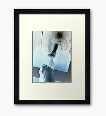 God is trying to Reach you He is using me is that ok with you Framed Print