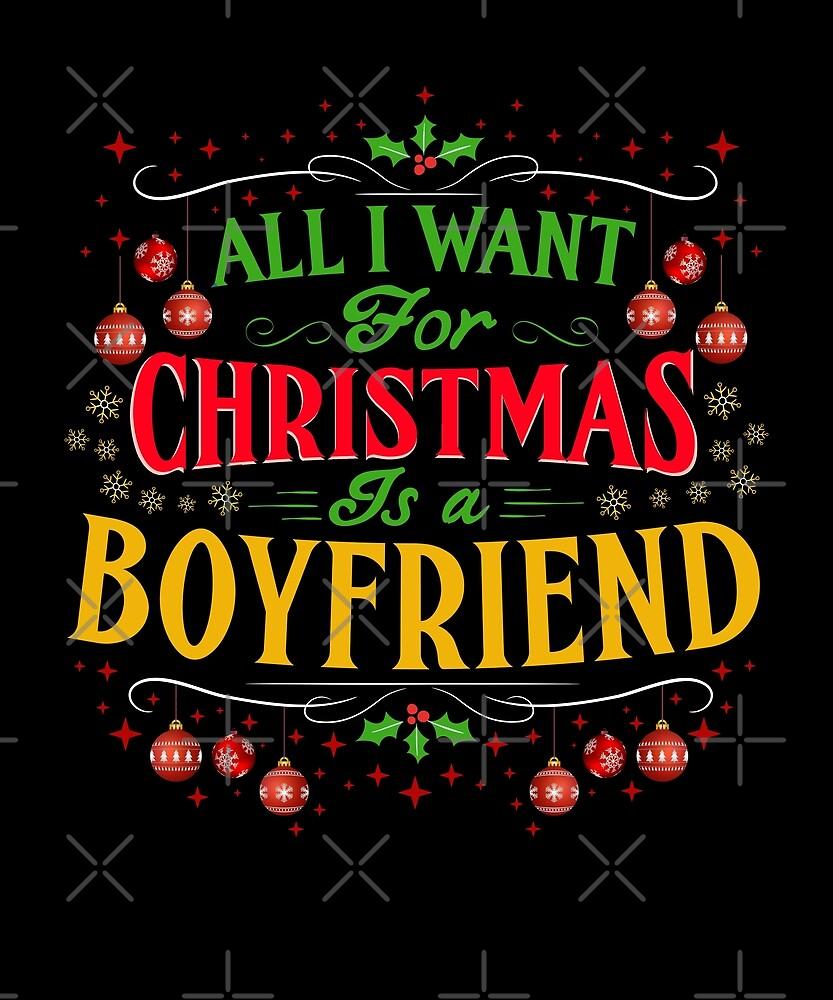 Alles, was ich für Weihnachten will, ist ein Freund-lustiges Gag ...