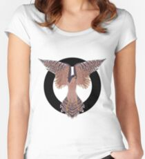 Hawk Circle Women's Fitted Scoop T-Shirt