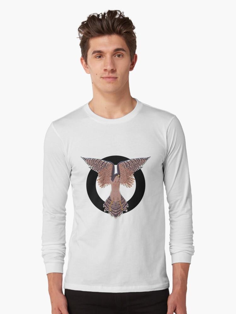 Hawk Circle Long Sleeve T-Shirt Front