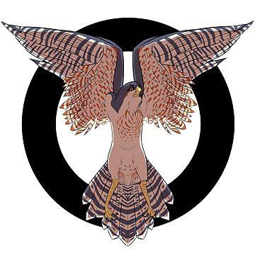 Hawk Circle by EllisonMurphy