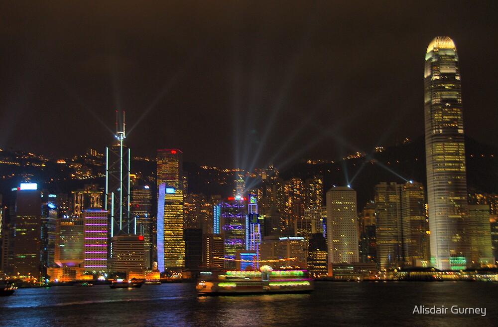 Hong Kong Symphony of Lights by Alisdair Gurney