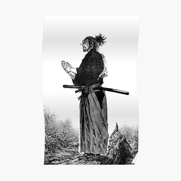 Vagabond - Manga Samurai Poster