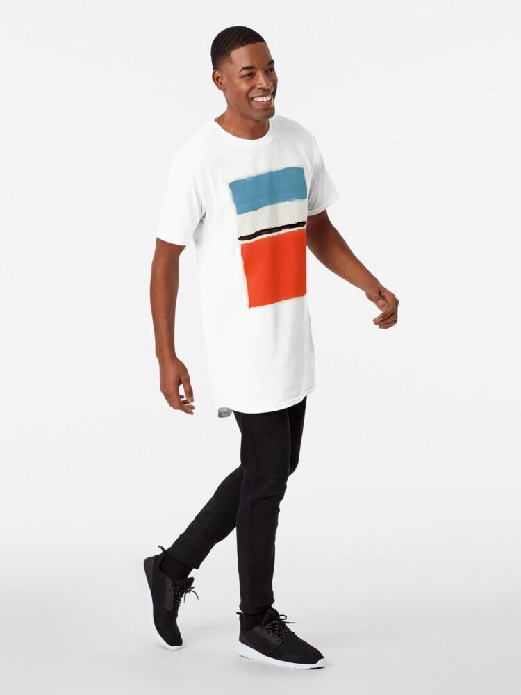 Alternative Ansicht von Weiße Mitte Longshirt