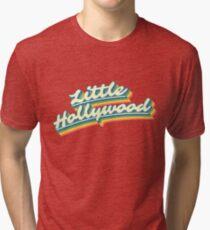 Little Hollywood | Retro Rainbow Tri-blend T-Shirt