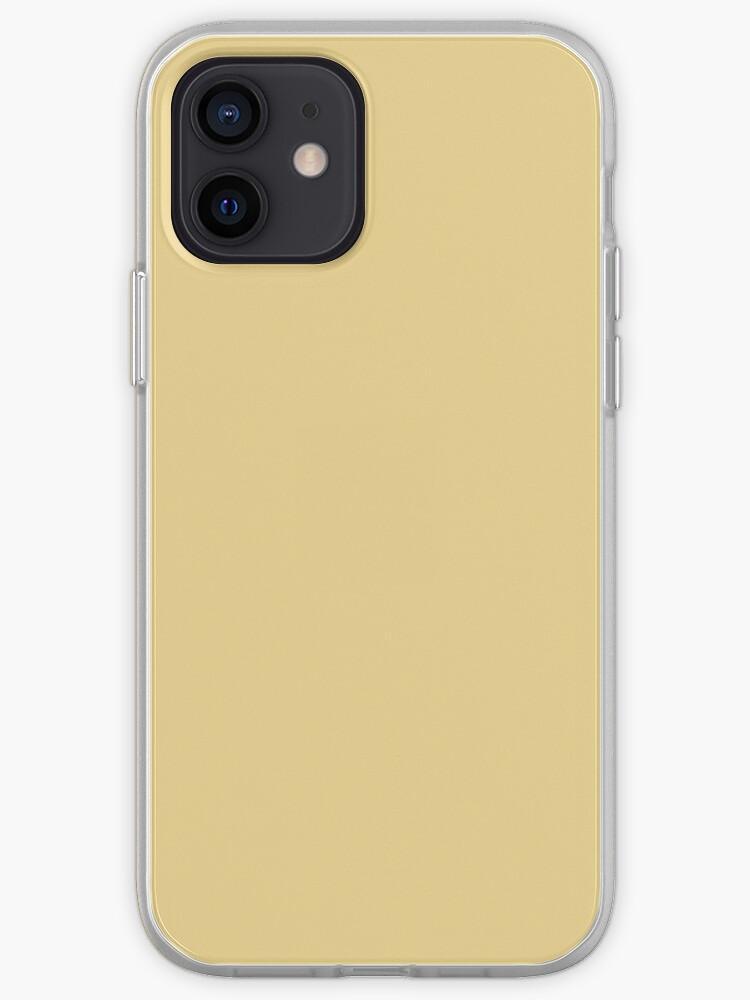 Jaune pâle | Coque iPhone