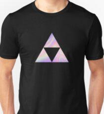 Holographic Triforce Symbol Zelda Unisex T-Shirt