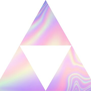 Holographic Triforce Symbol Zelda by 58mm