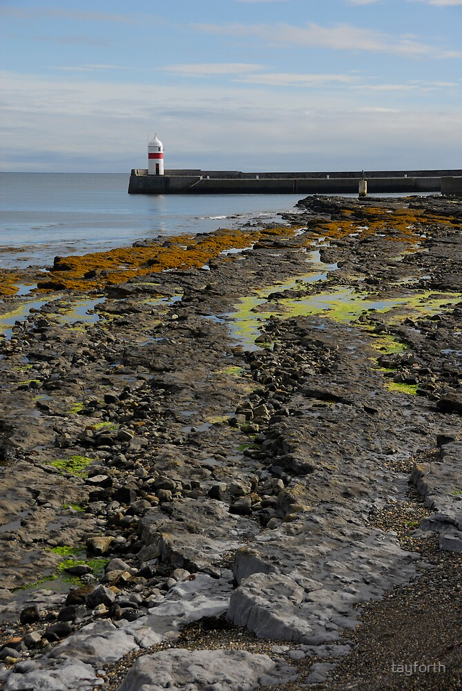 Castletown Lighthouse, Isle of Man  by tayforth