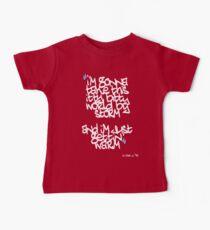 Camiseta para bebés Just gettin warm