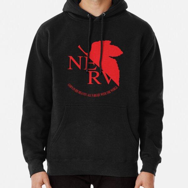NERV - Neon Genesis Evangelion Sudadera con capucha