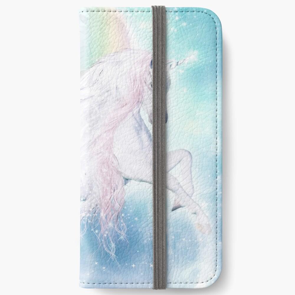 Rainbow Pegasus iPhone Flip-Case