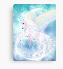Rainbow Pegasus Canvas Print