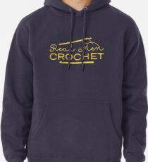 Real Men Crochet Pullover Hoodie