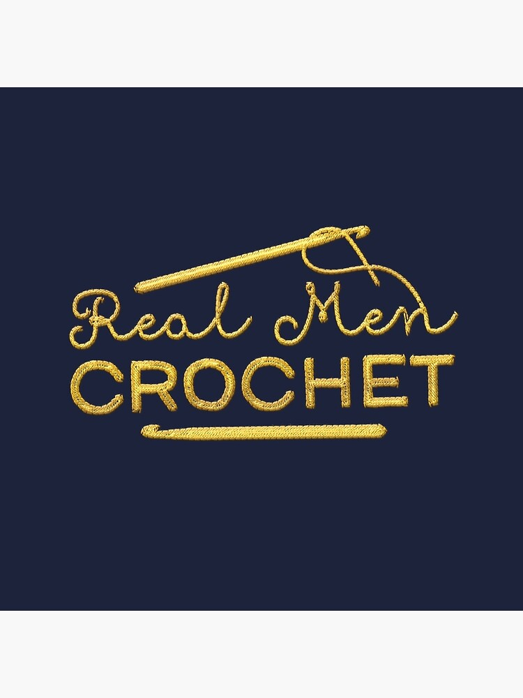 Real Men Crochet by swashandfold