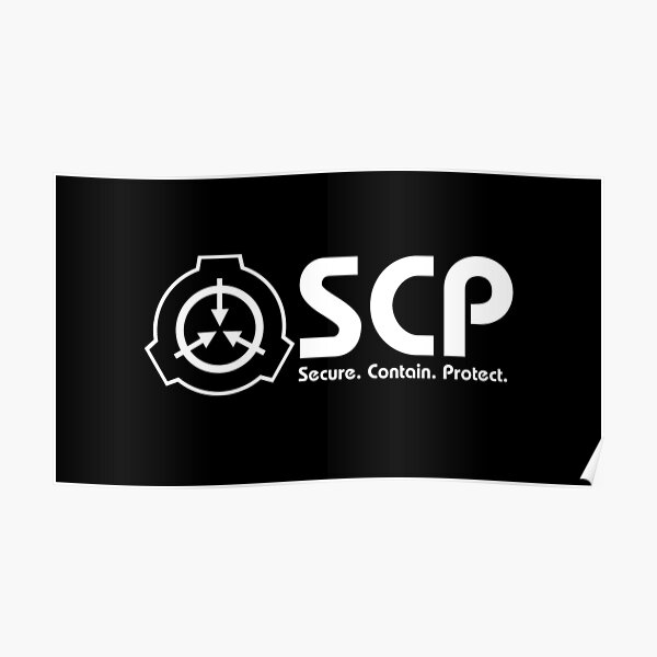 SCP foundation logo Poster