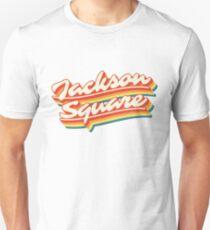 Jackson Square | Retro Rainbow Unisex T-Shirt