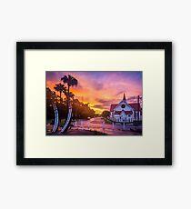 Sunset at Sandgate Framed Print