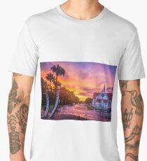 Sunset at Sandgate Men's Premium T-Shirt