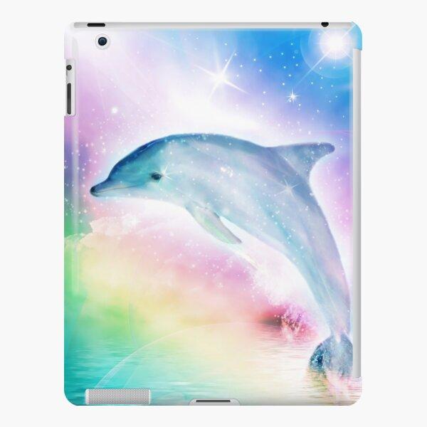 Rainbow Dolphin iPad Snap Case