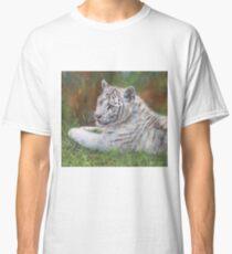 White Amur Tiger Cub Classic T-Shirt