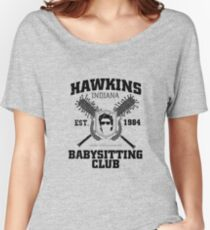 Hawkins Babysitting Club : Inspired by Stranger Things Women's Relaxed Fit T-Shirt
