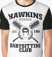 Hawkins Babysitting Club : Inspired by Stranger Things Graphic T-Shirt