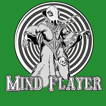 Mind Flayer : Inspired By Stranger Things by WonkyRobot