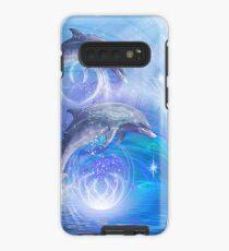 Dolphins Joyride Hülle & Klebefolie für Samsung Galaxy
