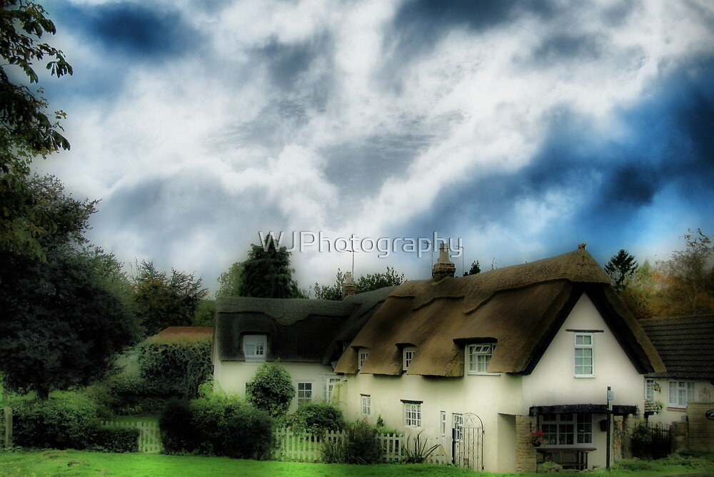Sweet Cottage by WJPhotography