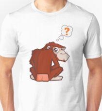 Monkey WTF??? Unisex T-Shirt