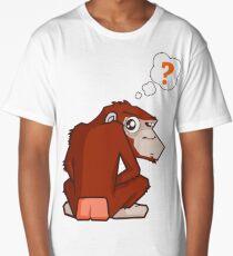 Monkey WTF??? Long T-Shirt