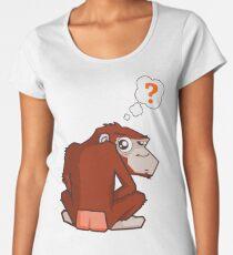 Monkey WTF??? Women's Premium T-Shirt