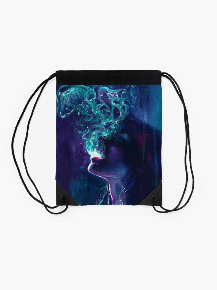 Alternate view of The Ghostmaker Drawstring Bag