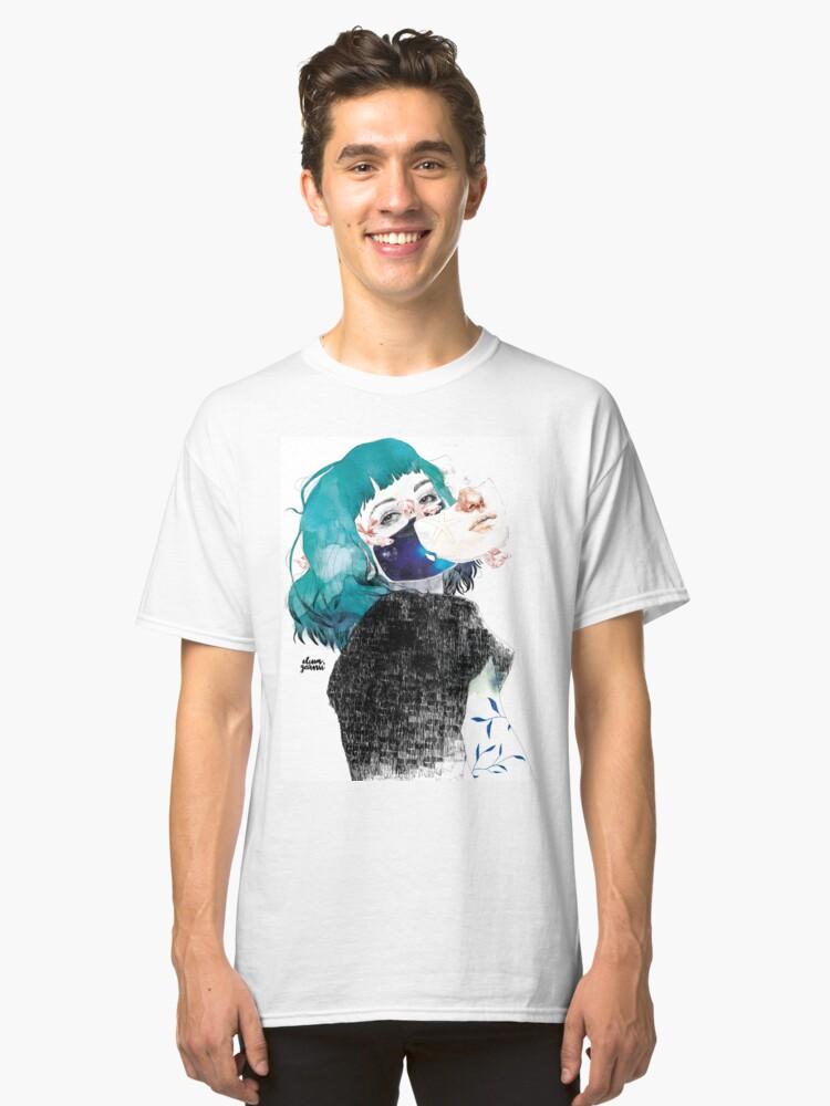 Alternate view of If you shut me up by elenagarnu Classic T-Shirt