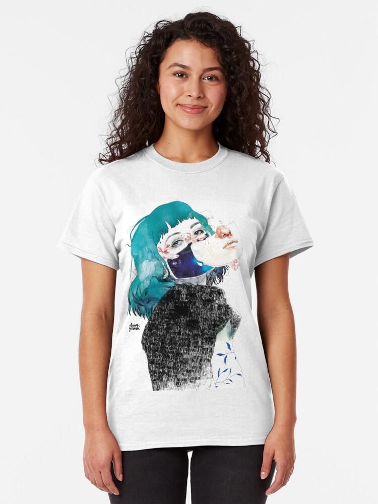 Vista alternativa de Camiseta clásica Si me callas by elenagarnu
