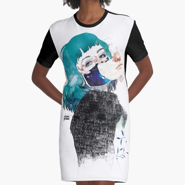 If you shut me up by elenagarnu Graphic T-Shirt Dress