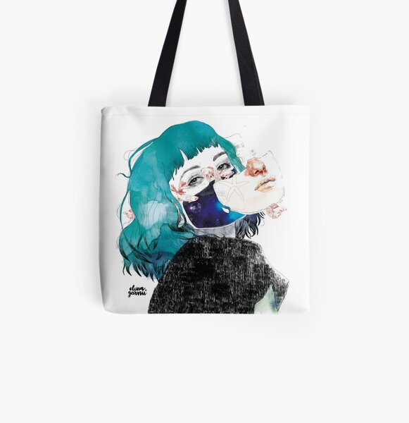 If you shut me up by elenagarnu All Over Print Tote Bag