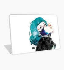 If you shut me up by elenagarnu Laptop Skin