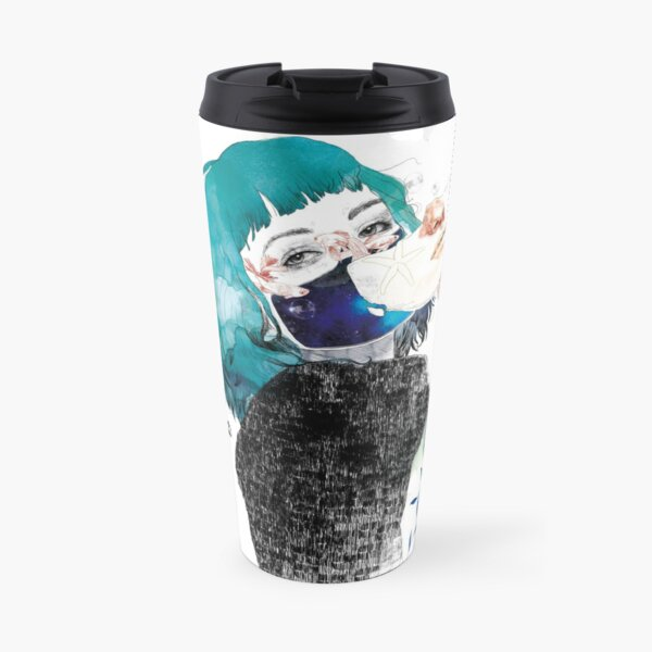 If you shut me up by elenagarnu Travel Mug